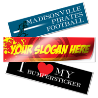 Bumper Stickers - Rectangular